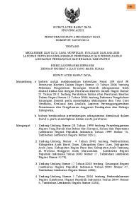 BUPATI ACEH BARAT DAYA PROVINSI ACEH PERATURAN BUPATI ACEH BARAT DAYA NOMOR 29 TAHUN 2014 TENTANG