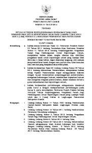 BUPATI CIAMIS PROVINSI JAWA BARAT PERATURAN BUPATI CIAMIS NOMOR 9 TAHUN 2015 TENTANG