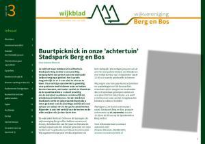 Buurtpicknick in onze achtertuin Stadspark Berg en Bos