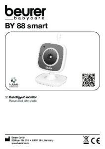 BY 88 smart. H Babafigyelő monitor Használati útmutató. Beurer GmbH Söflinger Str Ulm, Germany  CONNECTED