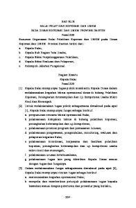 c. Kepala Seksi Evaluasi dan Pelaporan; d. Kelompok Jabatan Fungsional