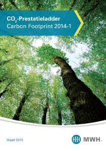Carbon Footprint MWH B.V. 31 maart Document: Omschrijving Beheerste versie