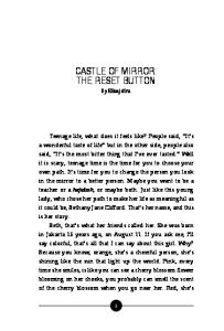 CASTLE OF MIRROR: THE RESET BUTTON