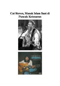 Cat Steven, Masuk Islam Saat di Puncak Ketenaran