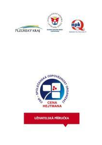 Cena hejtmana Plzeňského kraje za společenskou odpovědnost pro rok 2014