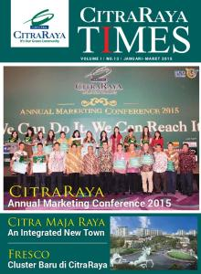 CitraRaya. Citra Maja Raya. Fresco. Annual Marketing Conference An Integrated New Town. Cluster Baru di CitraRaya