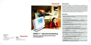 CM927RF - Gebruikershandleiding