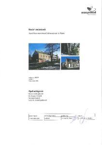 Colofon Projectgroep bestaande uit: Tekstbijdragen: Datum van uitgave: Contactadres: Ingenieursbureau Oranjewoud