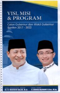 Colon Gubernur dan Wakil Gubernur Banten