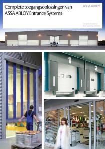 Complete toegangsoplossingen van ASSA ABLOY Entrance Systems