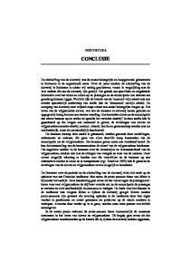 CONCLUSIE HOOFDSTUK 6