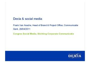Congres Social Media, Stichting Corporate Communicatie