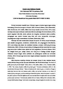 Contoh Latar Belakang Masalah Rachmat Rk Kriyantono Phd Lbm Ini