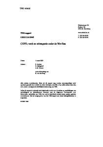COPD, werk en reïntegratie onder de Wet Rea