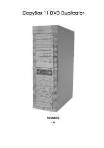 CopyBox 11 DVD Duplicator