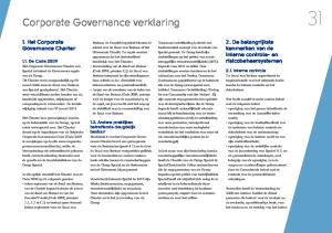 Corporate Governance verklaring
