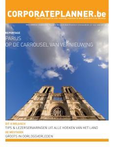 CORPORATEPLANNER.be. Parijs op de carrousel van vernieuwing. Tips & lezerservaringen uit alle hoeken van het land. Groots in oorlogsverleden