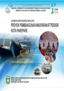 Costal Community Development Project-International Fund for Agricultural Development (CCDP-IFAD) Kementerian Kelautan dan Perikanan Republik Indonesia