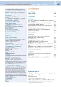 Cutane oncologie 458. Programma 459
