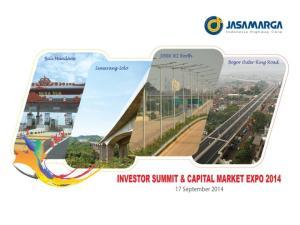 Daftar Isi. Sekilas Jasa Marga. Pertumbuhan Aset-aset yang Konsisten & Terprediksi. Peningkatan Efisiensi Biaya Keuangan