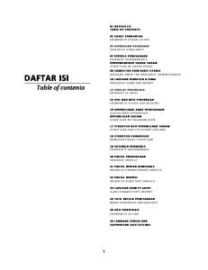 DAFTAR ISI Table of contents