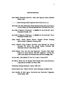 DAFTAR PUSTAKA. Abdul Madjid, Muhammad Zainuddin, Nazam Batu Ngompal, Jakarta: Nahdlatul Wathan, 1994