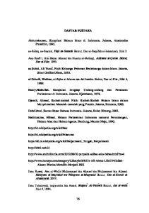 DAFTAR PUSTAKA. Abdurrahaman, Kompilasi Hukum Islam di Indonesia. Jakarta, Akademika Pressindo, 1992