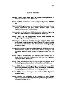 DAFTAR PUSTAKA. Adcock, R. (2007). Principles and Practices of Systems Engineering. INCOSE, UK