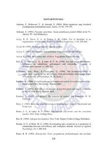DAFTAR PUSTAKA. Arikunto, S. (1993). Prosedur penelitian: Suatu pendekatan praktek (Edisi revisi V). Jakarta: PT. Asdi Mahasatya