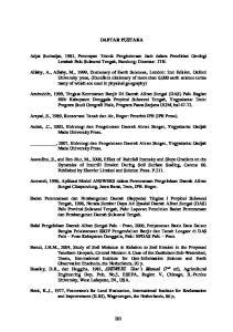 DAFTAR PUSTAKA. Arsyad, S., 1989, Konservasi Tanah dan Air, Bogor: Penerbit IPB (IPB Press)