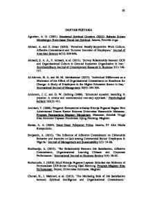 DAFTAR PUSTAKA. Barata, A. A. (2004). Dasar-Dasar Pelayanan Prima. Jakarta, PT Alex Media Komputindo