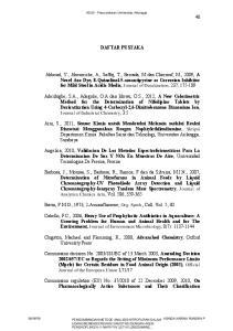 DAFTAR PUSTAKA. Clugston, Machael and Flemming, R., 2008, Advanched Chemistry, Oxford University Press