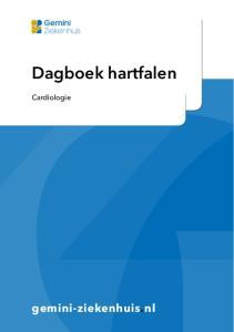 Dagboek hartfalen. Cardiologie. gemini-ziekenhuis.nl