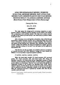 Danang Adhi Putra Idris, S.E., M.Si ABSTRACT
