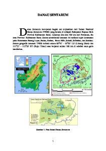DANAU SENTARUM. Gambar 1. Peta lokasi Danau Sentarum
