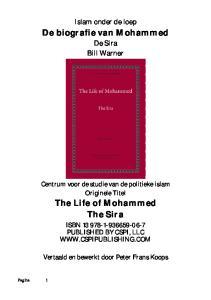 De biografie van Mohammed