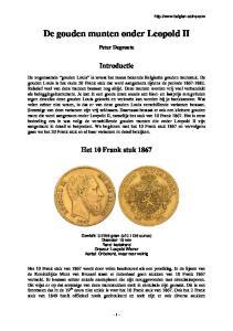 De gouden munten onder Leopold II