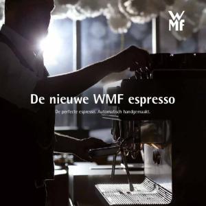 De nieuwe WMF espresso. De perfecte espresso. Automatisch handgemaakt