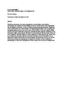 De vuurvaste bijbel Orale cultuur, materiële religie en de Heilige Schrift. Fred van Lieburg. Verschenen in: Radix 28 (2002)