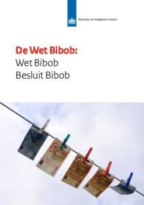 De Wet Bibob: Wet Bibob Besluit Bibob