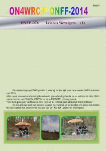 Deel 1 ONFF-376 Leiebos Wevelgem. (1)