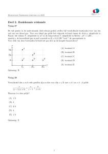 Deel 2. Basiskennis wiskunde