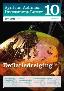 Deflatiedreiging. Syntrus Achmea Investment Letter. Beleggingsomgeving. Marktontwikkelingen. Vooruitzichten. Special. Lage verwachte rendementen