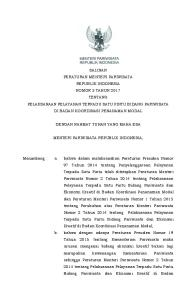 DENGAN RAHMAT TUHAN YANG MAHA ESA MENTERI PARIWISATA REPUBLIK INDONESIA,
