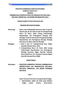 DENGAN RAHMAT TUHAN YANG MAHA ESA PRESIDEN REPUBLIK INDONESIA,