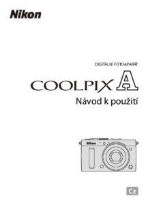 DIGITÁLNÍ FOTOAPARÁT. Návod k použití