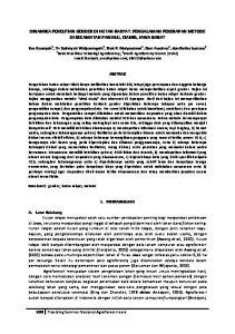 DINAMIKA PENELITIAN GENDER DI HUTAN RAKYAT: PENGALAMAN PENERAPAN METODE DI KECAMATAN PANJALU, CIAMIS, JAWA BARAT