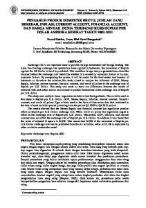 DIPONEGORO JOURNAL OF MANAGEMENT Volume 2, Nomor 3, Tahun 2013, Halaman ISSN (Online):