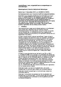 Directie Vaktechniek Belastingen