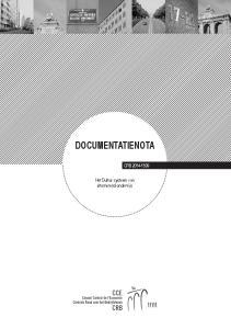 documentatienota CRB Het Duitse systeem van alternerend onderwijs